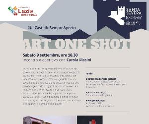 Mostre: ART ONE SHOT | Carola Masini