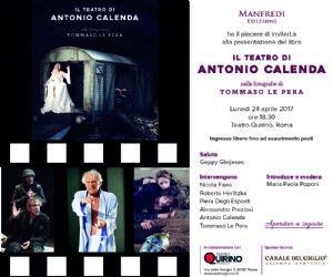 Libri: Il teatro di Antonio Calenda