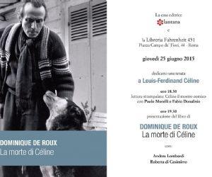 Libri: Una serata speciale per gli amanti di Céline