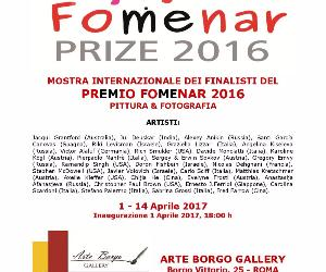 Gallerie: FOMENAR PRIZE 2016