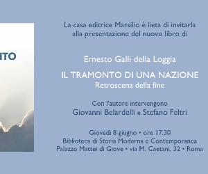 Libri - Incontro con Ernesto Galli della Loggia