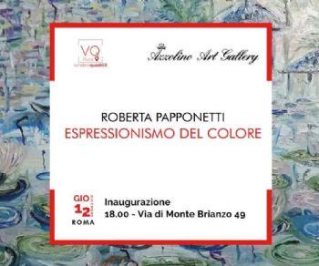 Gallerie - Roberta Papponetti - Espressionismo del colore