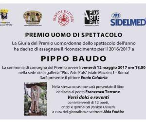 """Serate - Premio """"Uomo di spettacolo"""" a Pippo Baudo"""