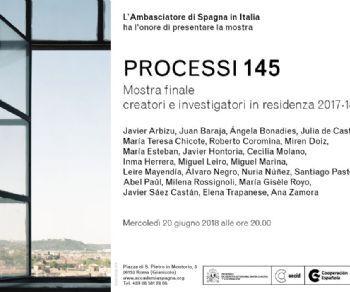 Mostre - Processi 145