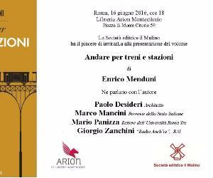 presentazione del nuovo libro di  Enrico Menduni