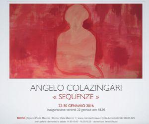 mostra personale di Angelo Colazingari