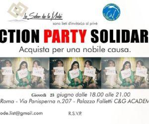 Mercatino solidale il cui ricavato andrà interamente all'Associazione 'Gabriele Viti'
