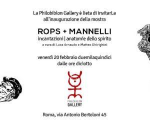 Mostra dedicata all'opera dei grandi maestri Félicien Rops e Riccardo Mannelli
