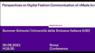 Rassegne - Prospettive sulla comunicazione fashion digitale del «made in»