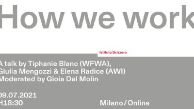 Mostre - How we work
