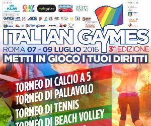 Rassegne: Italian Gaymes