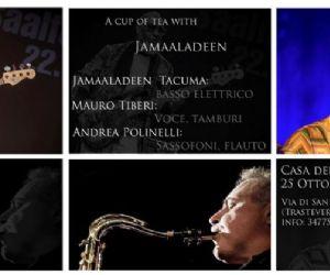 Jamaaladeen Tacuma + Mauro Tiberi* Andrea Polinelli in concerto