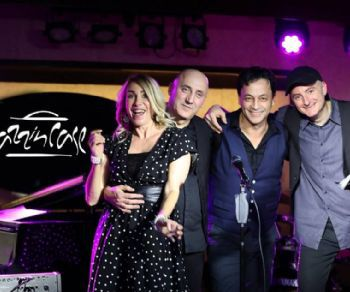 Quartetto smooth jazz per la notte di Ferragosto
