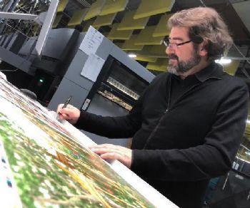 Trenta tavole originali del disegnatore spagnolo