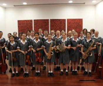 Concerti - L'orchestra e il coro della Kambala Girls' School, Australia