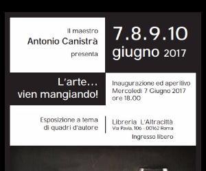 Esposizione del maestro Antonio Canistrà