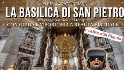 Visite guidate - La Basilica di San Pietro con visori VR