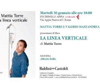 Mattia Torre e Valerio Mastrandrea presentano il libro alla Feltrinelli di via Appia