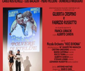 Nuovo cinema concerto. Le più belle canzoni italiane scritto e diretto da Fabrizio Russotto