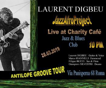 Concerti - Laurent Digbeu Jazz Afro Project in concerto