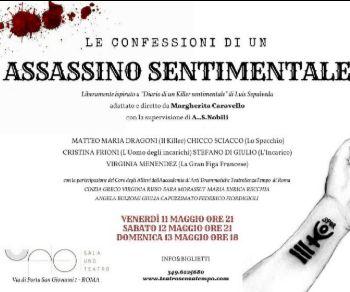 "Liberamente ispirato a ""Diario di un killer sentimentale"" di Luis Sepulvèda"