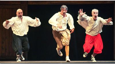 Spettacoli - Le opere complete di Shakespeare in 90'