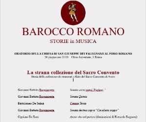 Concerti - Le storie di Barocco Romano
