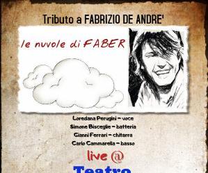 Concerti: Le nuvole di FABER al Teatro IL CANTIERE