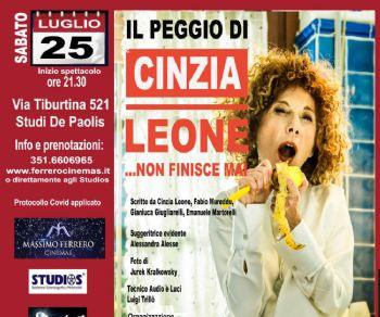 Spettacoli: Il peggio di Cinzia Leone... non finisce mai