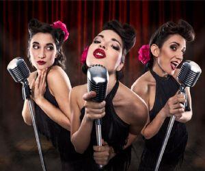 Lo spettacolo musicale dal sapore vintage firmato dal trio femminile