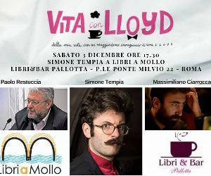 Libri: Simone Tempia e Sir Lloyd a Roma