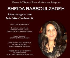 Concerto di Sheida Rassoulzadeh