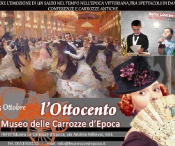 Spettacoli - L'Ottocento al Museo delle Carrozze d'Epoca
