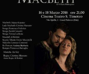 In scena il Macbeth al San Timoteo di Casal Palocco