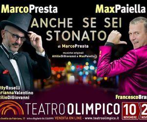 Marco Presta e Max Paiella al teatro Olimpico