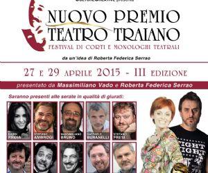 III edizione del festival di corti e monologhi teatrali