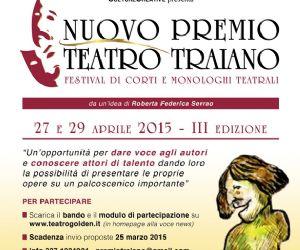 Festival di corti e monologhi teatrali - III edizione