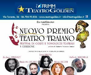 """Rassegne: Finale del nuovo """"Premio Teatro Traiano"""", V edizione"""