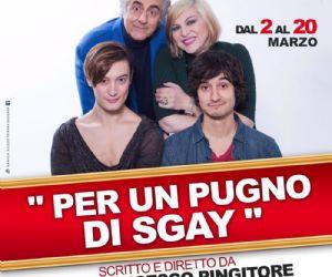 Spettacolo scritto e diretto da Pier Francesco Pingitore, con Martufello e Nadia Rinaldi