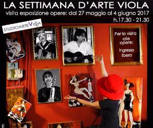 Mostra dell'artista Viola Di Massimo con il concerto degli Strumentalizzati