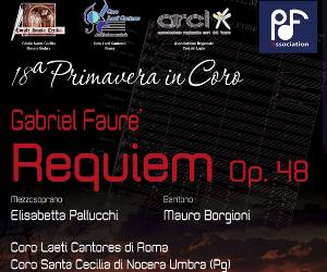 Concerti - Requiem di Faurè Op. 48