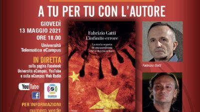 Libri - L'infinito errore, di e con Fabrizio Gatti