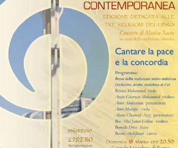 Concerti - Cantare la pace e la concordia