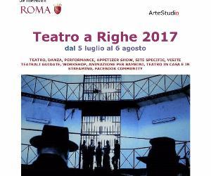 Rassegne: Teatro a Righe 2017