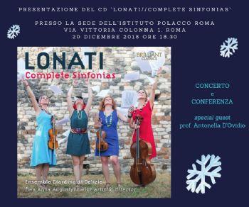 Concerti - Lonati / Complete sinfonias