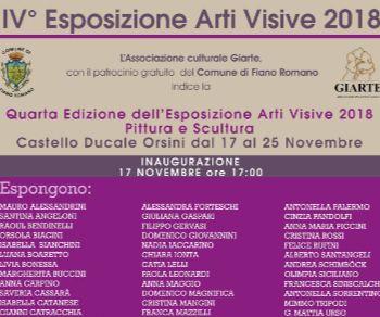 Mostre - IV Esposizione Arti Visive 2018