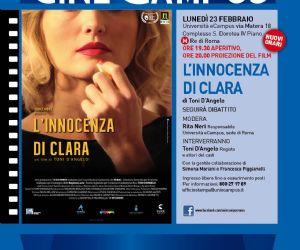 Terza serata di CineCampus con la proiezione del film di Toni D'Angelo