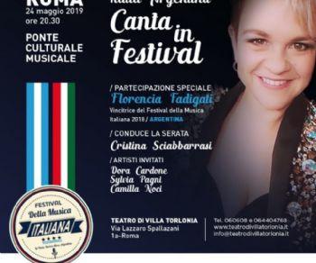 """La vincitrice del """"Festival della Musica Italiana di La Plata"""""""