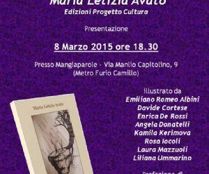 Presentazione del romanzo di Maria Letizia Avato