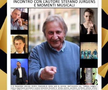 Spettacoli - Incontro con l'Autore Stefano Jurgens e Momenti Musicali